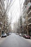 街道场面在布宜诺斯艾利斯-阿根廷 库存图片