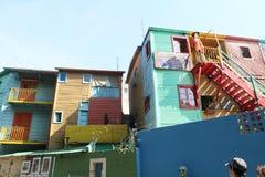 街道场面在布宜诺斯艾利斯 免版税库存照片