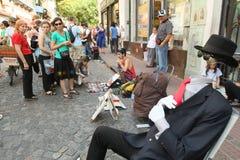 街道场面在布宜诺斯艾利斯 库存图片