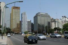 街道场面在布宜诺斯艾利斯 库存照片