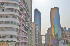 街道场面在旺角香港 库存图片