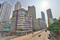 街道场面在旺角香港 图库摄影