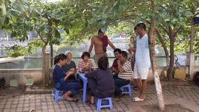 街道场面在河内越南2015年 免版税库存图片
