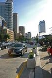 街道场面,汉城,韩国 免版税图库摄影