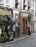 街道场面,巴黎,法国 免版税库存图片
