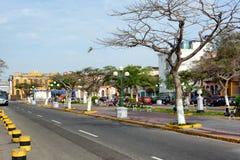 街道场面Barranco 库存照片
