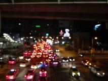 街道夜 免版税库存照片