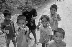 街道孩子 图库摄影