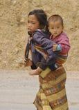 街道孩子 库存照片