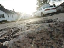 街道岩石 免版税库存图片