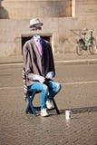 街道执行者在罗马 图库摄影