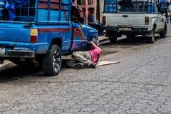 街道技工 免版税库存图片