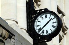 街道时钟 免版税库存照片