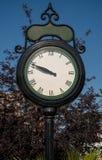 街道时钟 库存图片