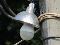 街道杆光在印度 库存图片