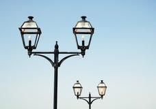 街道灯笼大加那利岛 图库摄影