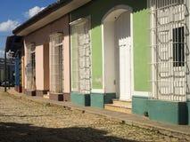 街道特立尼达 免版税库存照片