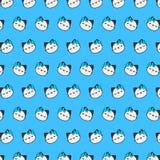 街道猫- emoji样式36 向量例证
