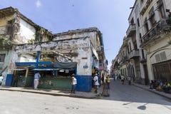 街道生活在哈瓦那 免版税库存照片