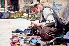 街道生活在设拉子,伊朗 免版税库存照片