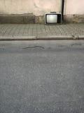 街道电视 免版税库存图片