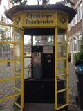 街道电话 图库摄影
