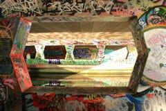 街道画反映 免版税库存照片