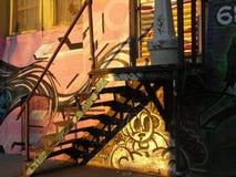 街道画在布鲁克林 免版税库存照片