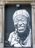 街道画在布鲁塞尔 免版税图库摄影