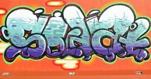 街道画墙壁在荷兰 免版税库存图片