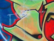 街道画标签 免版税库存图片