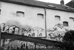 街道画艺术 图库摄影