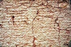 街道画,油漆,在老古色古香的威尼斯式墙壁上的桃红色颜色 库存图片