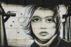 街道画 免版税图库摄影