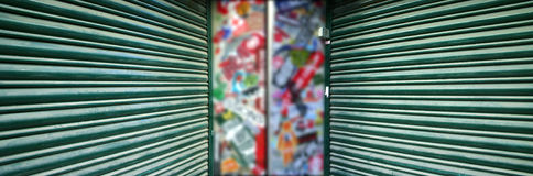 街道画 图库摄影