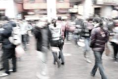 街道的人们 库存图片