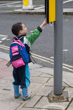 街道的子项 库存照片