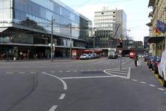 街道的看法在伯尔尼 免版税库存图片