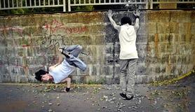 克隆舞蹈家 免版税库存图片