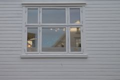 街道窗口 免版税库存图片