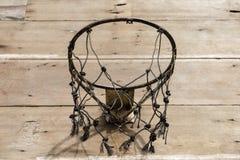 街道篮球网 免版税库存图片