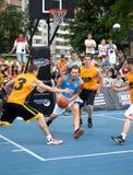 街道篮球节日在梁赞 图库摄影