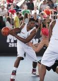 街道篮球 免版税库存图片