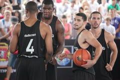 街道篮球 免版税图库摄影