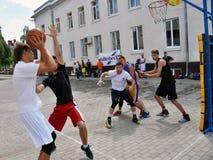 街道篮球tournament_3 库存照片
