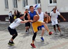 街道篮球tournament_7 免版税库存照片