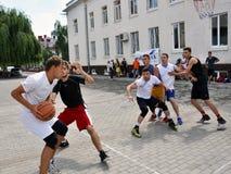 街道篮球tournament_4 免版税库存图片
