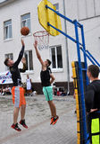 街道篮球tournament_2 免版税库存图片