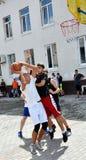 街道篮球tournament_3 免版税图库摄影