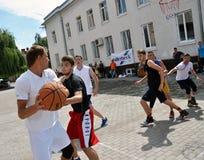 街道篮球tournament_4 图库摄影